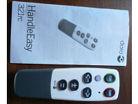 Doro HandleEasy 321rc TV or Radio remote control