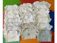 (21) 0-3 month vests - bundle