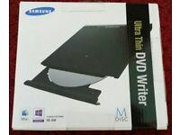 Brand new Samsung Ultra Thin DVD Writer