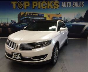 2016 Lincoln MKX RESERVE, AWD, ADAPTIVE CRUISE, BLIND SPOT!