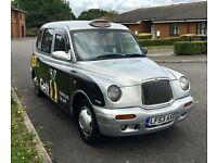 LTI London taxi Tx2 - London Plated - Black Cab 2003