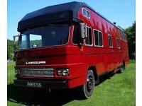 Ford D Series Lambourn Horsebox Motorhome Conversion
