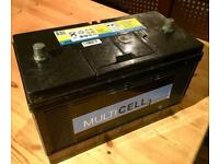 Vetus Multicell Battery - Campervan Motorhome Marine Van Lorry Boat Car