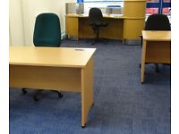 OFFICE SPACE TO LET IN HEDGE END, Waterloo Ind Est, SO30 2QT services included, monthly daily