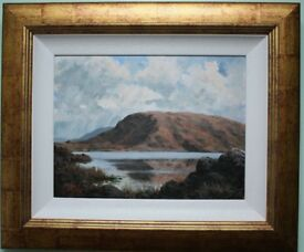 Original Authentic Oil Painting MUCKISH MOUNTAIN by Irish Artist TONY MCNALLY