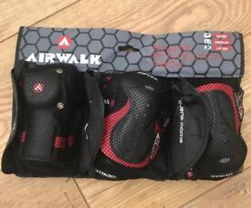 Airwalk elbow knee and wrist guards
