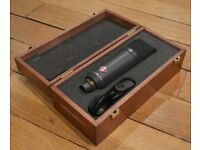 Neumann TLM 193 Microphone with Wooden Box