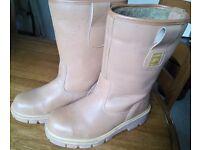 Rigger style steel toecap Boots