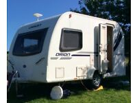 Bailey Orion 400-2 Caravan, 2 Berth, End washroom separate shower 2011-12