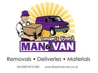 LONDON'S FINEST MAN AND VAN ✹| UK's REMOVAL | MAN WITH A VAN IN NORTH EAST SOUTH WEST LONDON STUDENT