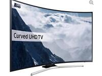 Samsung curved Tv 40 inch as new