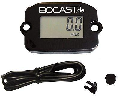 BOCAST Betriebsstundenzähler + Drehzahlmesser Motocross Enduro Modellbau Kart