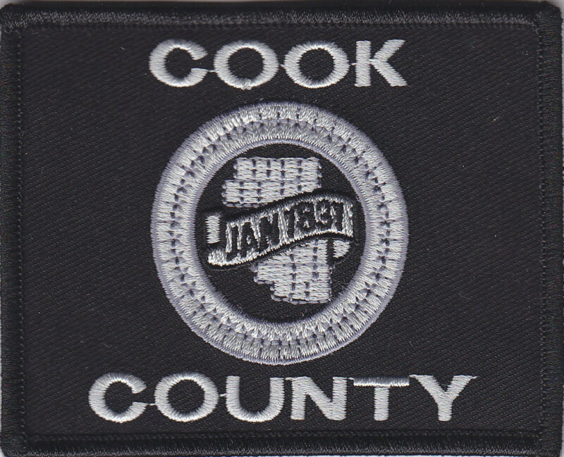 Cook County Flag patch SUBDUED/SWAT sheriff police IL Illinois