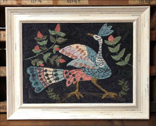 ONE GLORIOUS BIRD NEEDLEPUNCH TRANSFER PATTERN -KATHY BARRICK