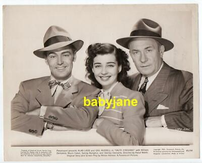 ALAN LADD GAIL RUSSELL WILLIAM DEMAREST ORIGINAL 8X10 PHOTO 1945 SALTY O'ROURKE for sale  Los Angeles