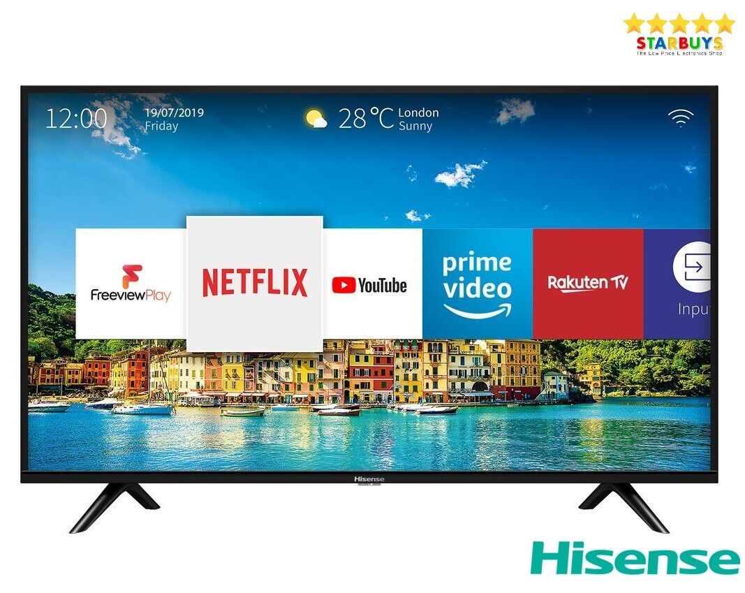 "Hisense H32B5600UK 32"" Inch SMART LED HD TV With Freeview HD & Catch Up TV"