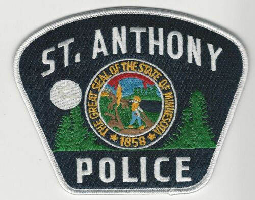St Anthony Police State Minnesota MN Colorful