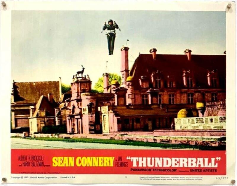 Thunderball (1965) Lobby Card #8