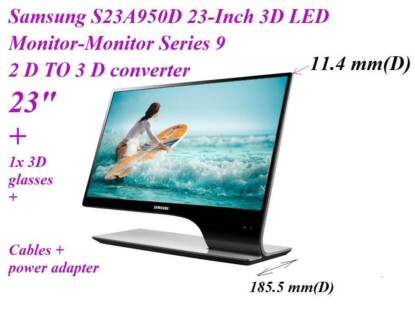 Samsung S23A950D 23-Inch 3D LED Monitor-Monitor Series 9 Colyton Penrith Area Preview