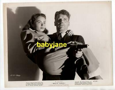 BURT LANCASTER ANN BLYTH ORIGINAL 8X10 PHOTO 1947 BRUTE FORCE
