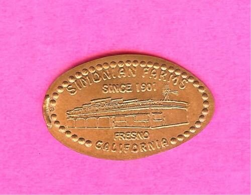 Simonian Farms in Fresno, California Since 1901 Elongated Pressed Copper Penny