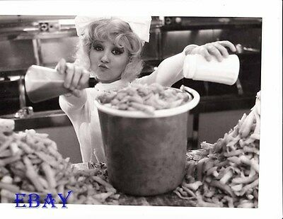 French Fries in bucket VINTAGE Photo Here We Go Around The Mulberry Bush ()