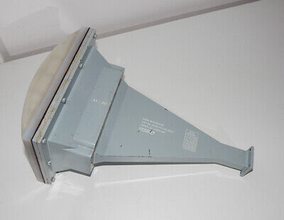 Military Microwave Horn Antenna Racal Waveguide Wr90 Wg16 R100