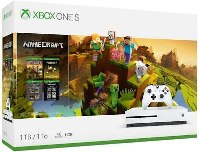 Xbox One S 1TB Assuage - Minecraft Creators Bundle Brand New
