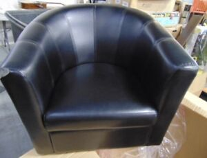 New primo Tulip Tub faux leather chair