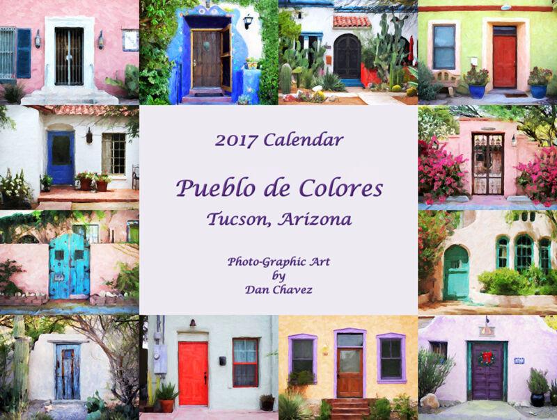Arizona 2017 Pueblo de Colores Calendar