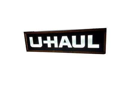 U Haul Sign Led Light Sign Box  12x48x2 Inc.