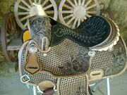 14 Leather Western Saddle