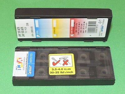 LNHW 1506 ANTN IS8 ISCAR CERAMIC INSERTS ** 10 PIECES / SEALED PACK **
