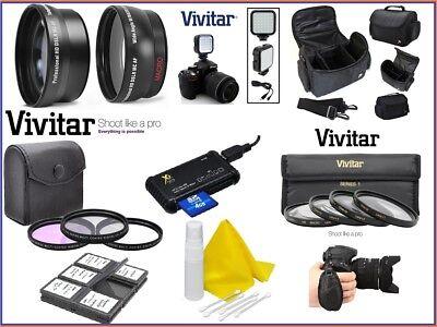 Alta Def Super Deluxe Pack de Accesorios Kit Para Nikon D3400