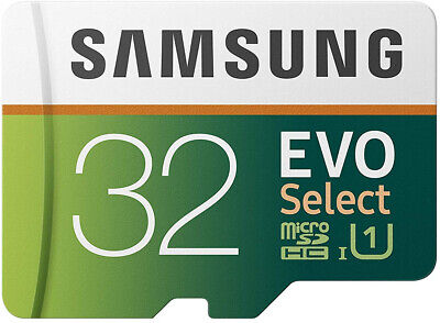 Samsung 32GB 95MB s  MicroSD EVO Select Memory Card with Ada