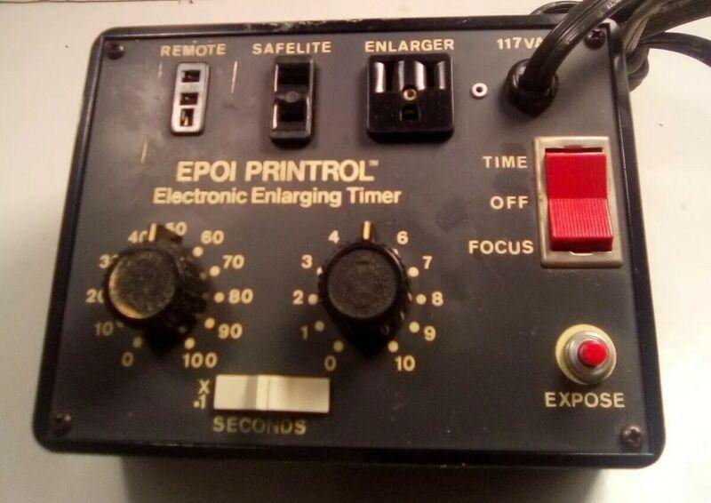 Epoi Printrol Electronic Enlarging Timer