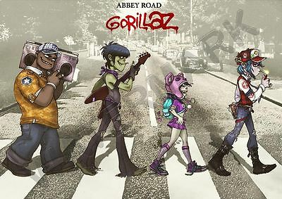 GORILLAZ MUSIC BAND A3 ART PRINT PHOTO POSTER AMK3054