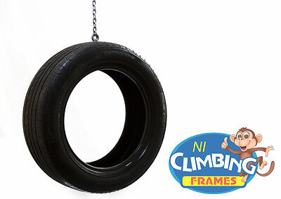 Complete Vertical Tyre Swing With Chains Commercial Swing Childrens Tire