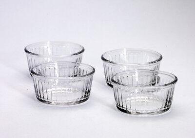 Duralex 4er Set Ramekin Auflaufform aus Glas 8,5 cm  - Ramekin