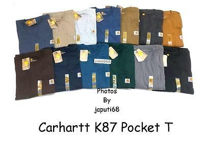 Carhartt K87 Workwear Pocket T Shirt   B1 87   Free Shipping In Us
