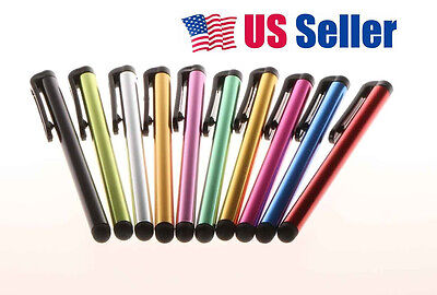10pcs Universal Capacitive Stylus Pen For Kindle Iphone Ipad Galaxy Touch Tablet