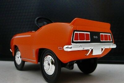 1969 Camaro Chevy Pedal Car Vintage Metal Collector >>READ FULL DESCRIPTION PAGE