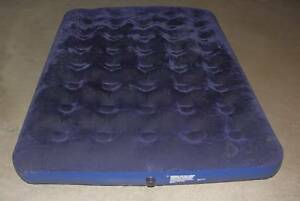 Inflatable double mattress + hand pump Rhodes Canada Bay Area Preview