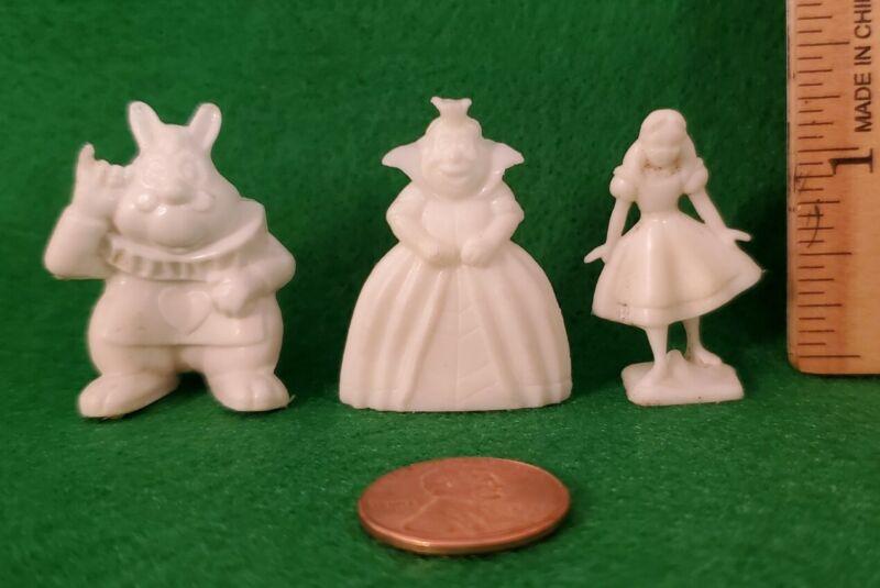 Marx Disney Miniatures Disneykins Alice in Wonderland Lot ( Mexican Version )
