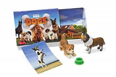 < Breyer Pocket Box dogs mystery figures blind pack miniatures lot 3 bags 1590
