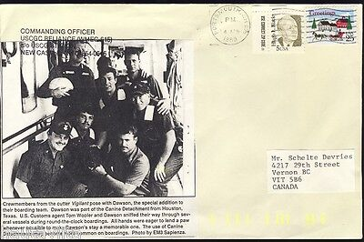 USCG Cutter Reliance WMEC 615 NewCastle NewHampshire Postal Envelope Cachet
