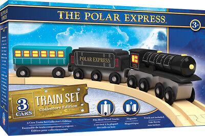 The Polar Express Wooden Train Set Set Masterpieces Train 41985