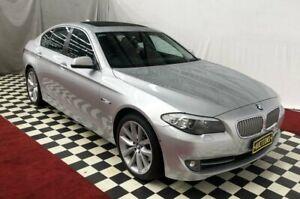 2010 BMW 550i Silver Automatic Sedan