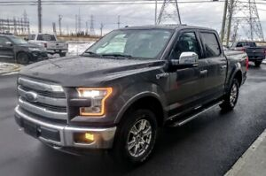 2017 Ford F-150 LARIAT+TOIT PANO+NAV+CUIR++++ WARRANTIED UNTIL D
