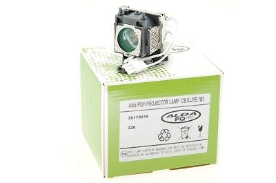 Alda PQ Lámpara para Proyectores / Del Benq W100 Proyectores, Con Carcasa